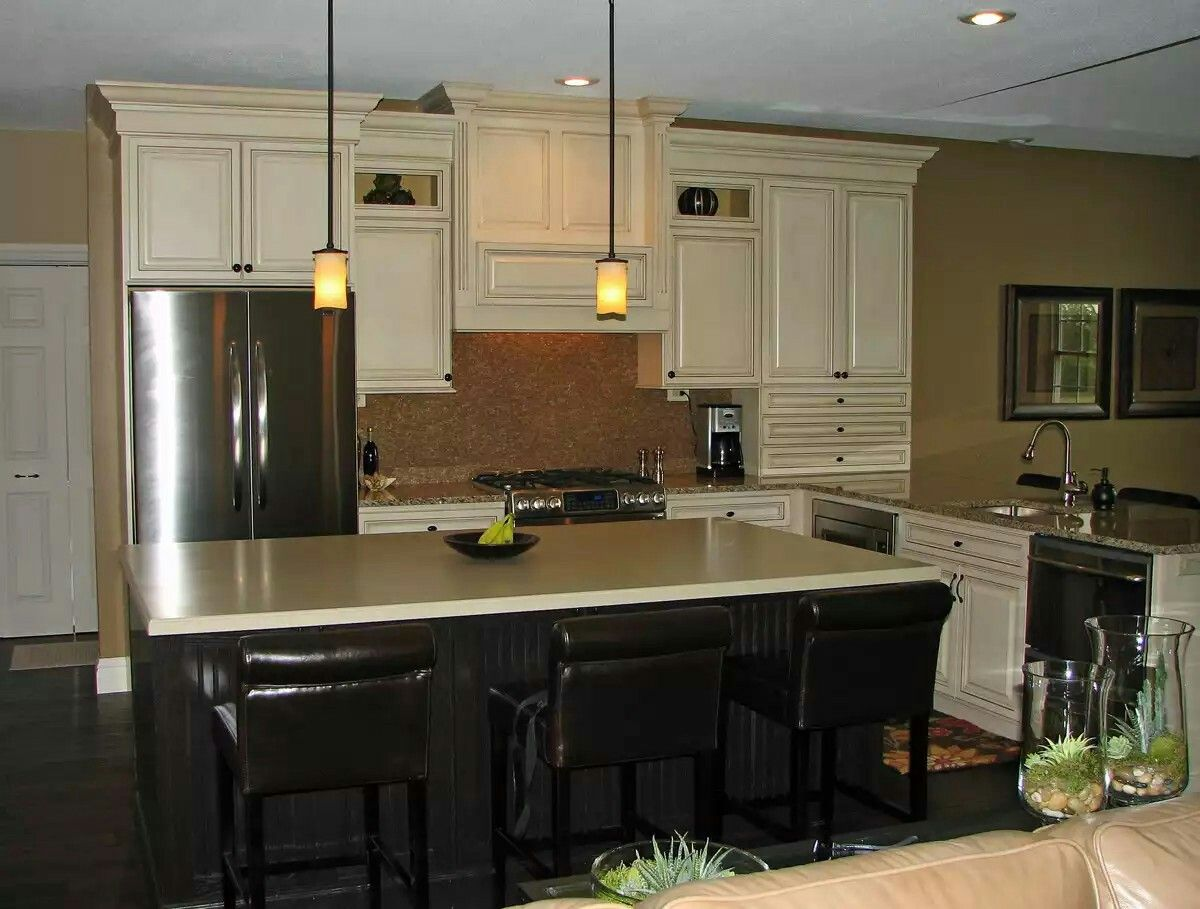 Pin by Karen Anderson on Cabinets | Kitchen cabinets grey ...