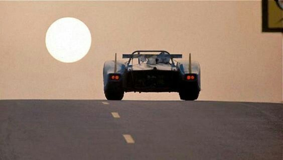 MATRA in the evening at Le Mans