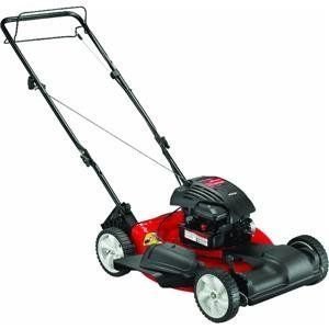 Yard Machines 12a A04a000 20 Inch 148cc Briggs Stratton 300 Series Mulch Side Discharge Gas Powered Self Propelled Lawn Mower Details At Http Youzones Com