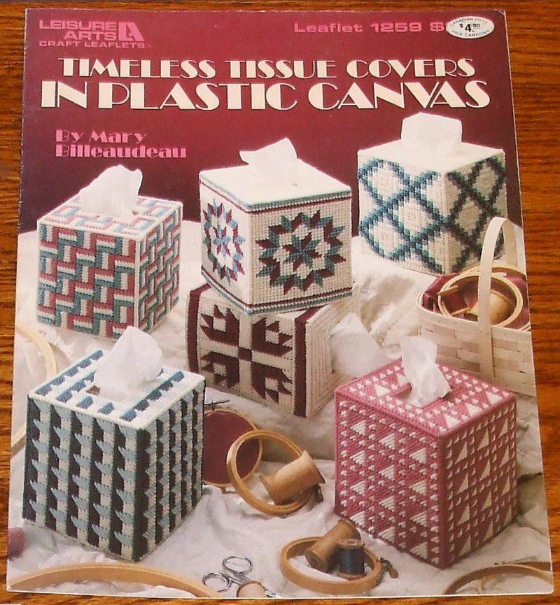 Leisure Arts-tissue Boxes /& Coasters