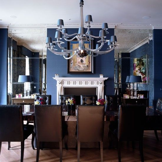 Photograph By Mark  Luscombe Whyte_Georgian Town House House Tour Traditional Decorating Ideas  Dining Room