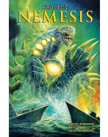 Project Nemesis #4 Bob Eggleton Variant Cover