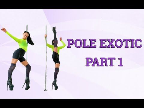Pole Exotic Dance. Part 1. - YouTube