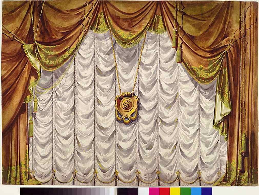 theatre curtain poor of new york pinterest toy theatre