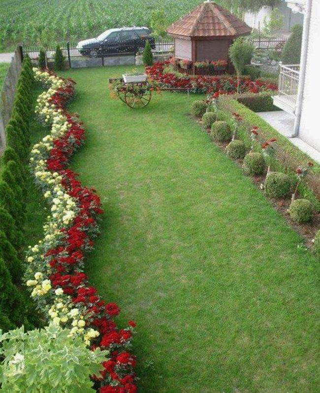 30 Maravillosas Fotos E Ideas Para Decorar Un Jardin Grande Moderno En 2020 Jardines Bonitos Jardines Decoraciones De Jardin