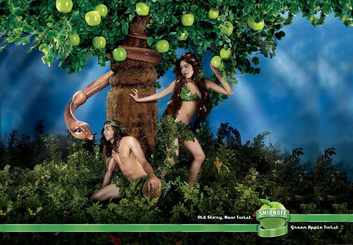 Old Story New Twist Smirnoff Green Apple Twist Agency Jwt Mumbai India Creative Director Senthil Kumar Debojyoti Purkayastha Ar Reklame Smirnoff Billeder