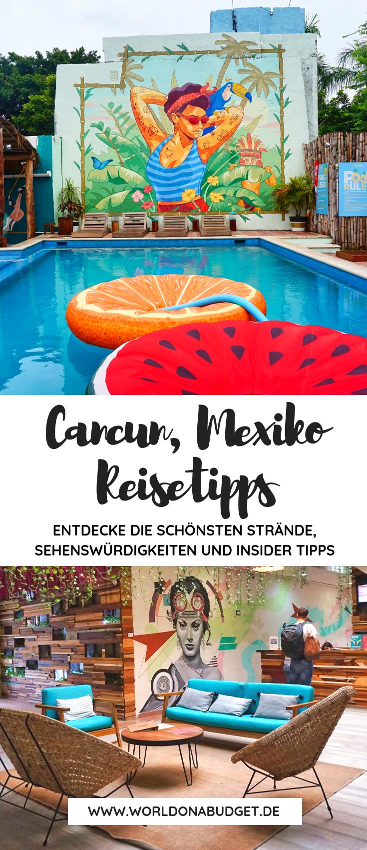 Cancún Mexiko Reisetipps für die Stadt auf der Halbinsel