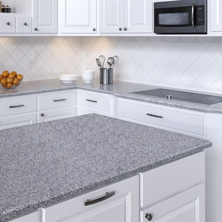 Allen Roth Azul Platina Granite Kitchen Countertop Sample Lowes