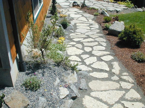 Creative Re Use Concrete Garden Rockery Garden Recycled Concrete