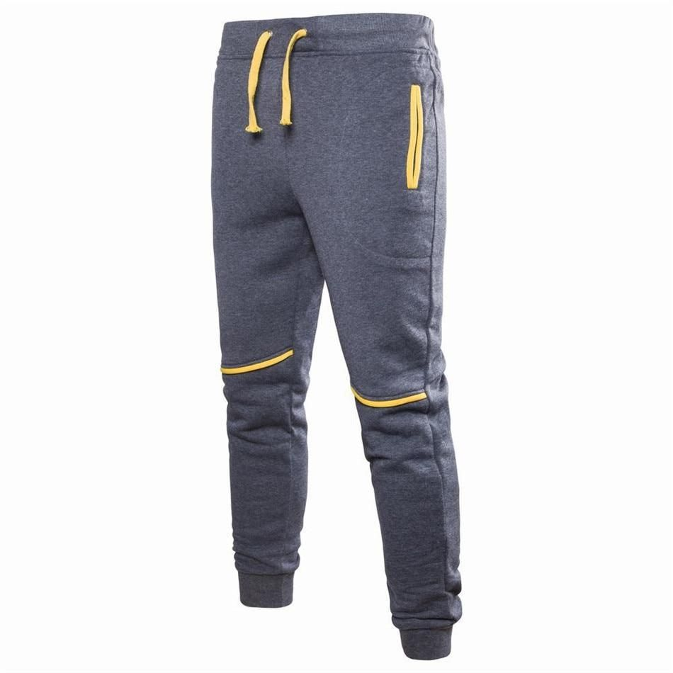 2018 fashion Sweatpants Men Zipper Pockets Solid Color pants men Casual Trousers Men Clothes Joggers Pants Man Street Wear is part of Clothes Casual Colored Pants - Gender Men;Item Type Full Length;Length AnkleLength Pants;Waist Type Mid;Pant Style Sweatpants;Decoration Spliced;Front Style Flat;Fabric Type Broadcloth;Closure Type Drawstring;Brand Name Kiby's;Waist Size(in inches) 2 2  2 7;Thickness Midweight;Fit Type Regular;Material Cotton;Model Number op0167;Style Casual;    N