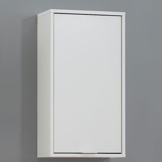 Gentil Zamora 5 Bathroom Wall Cabinet In White Finish