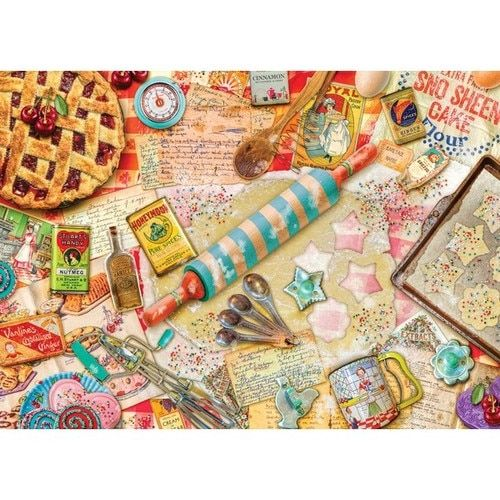 Treats N Treasures: Vintage Baker - 1000pc Jigsaw Puzzle by Holdson - SeriousPuzzles.com