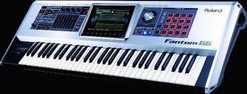 roland fantom g6 workstation keyboard by roland the roland fantom g6 61 key sampling. Black Bedroom Furniture Sets. Home Design Ideas