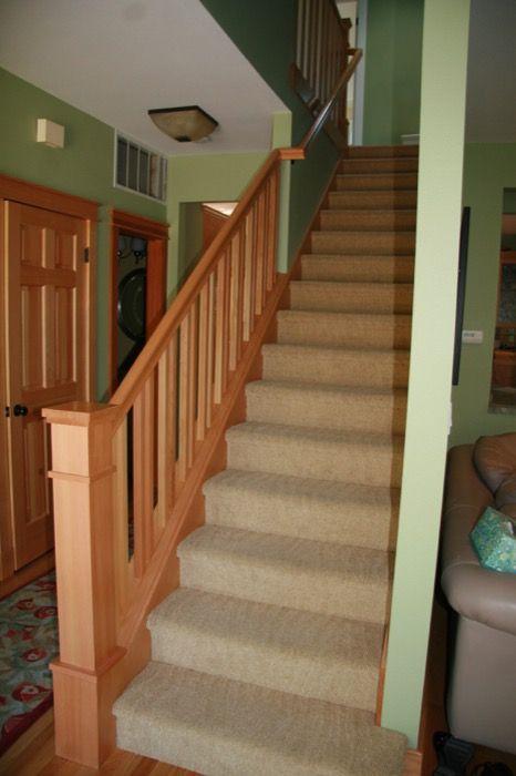 Craftsman Style, Stairs, Stairways, Ladder, Staircases, Stiles, Craftsman,  Stairway, Artesanato