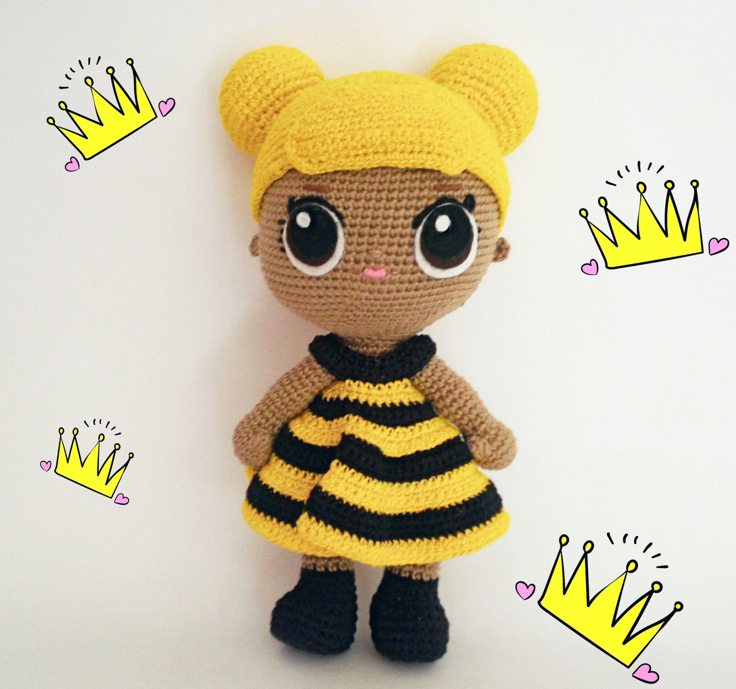 Lol Surprise Amigurumi Queen Bee Amigurumi Holiday Sp Char