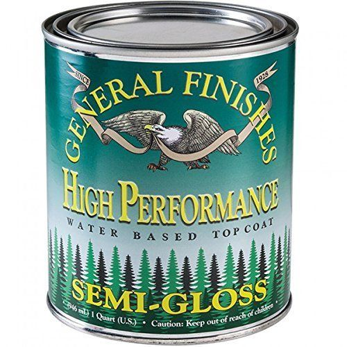 Rust Oleum Varathane 200261h 1 2 Pint Interior Crystal Clear Water Based Polyurethane Water Based Satin Fi General Finishes Milk Paint It Is Finished Top Coat