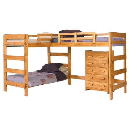 Letto A Castello 3 Piani.Found It At Wayfair Amanada Twin Over Twin L Bunk Bed In