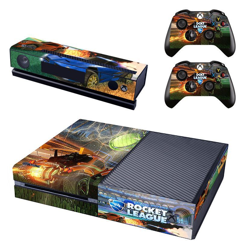 Rocket League Skin Decal For Xbox One Console And 2 Controllers