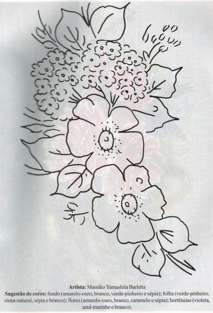 Pintura Sobre Tela 20 Disenos Diferentes Todos Con Moldes Dibujos En Tela Pintura En Tela Y Pintura En Tela Flores