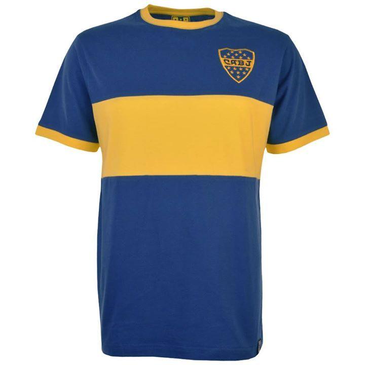 Boca Juniors Retro 12th Man T-Shirt - https   www.facebook fbedb43fef508