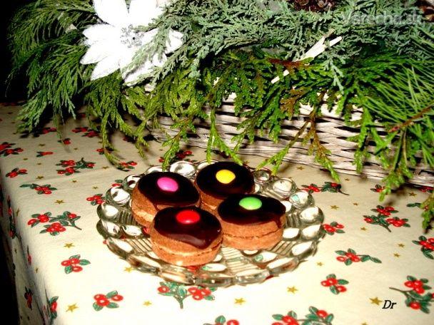 Plnené čokoládové tortičky
