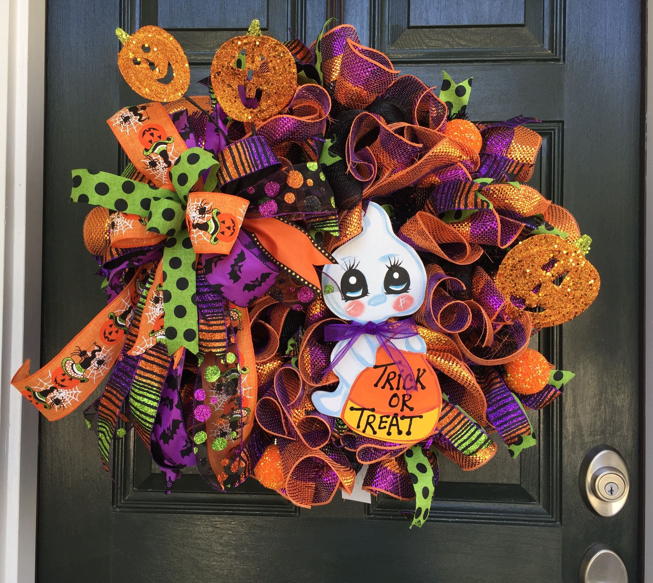Pin by At My Front Door on Halloween Wreaths Trick or treat