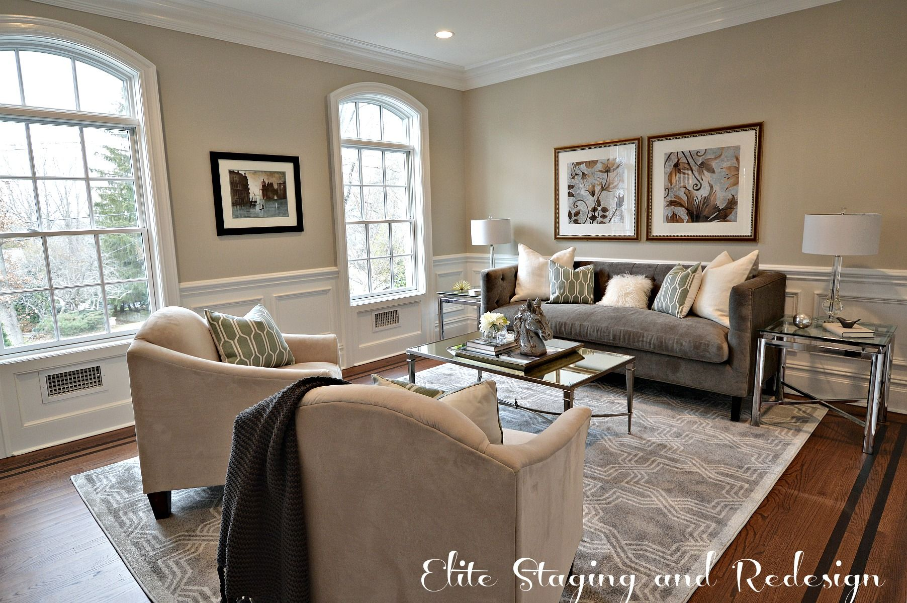 Sherwin williams accessible beige google search living Pics of painted living rooms