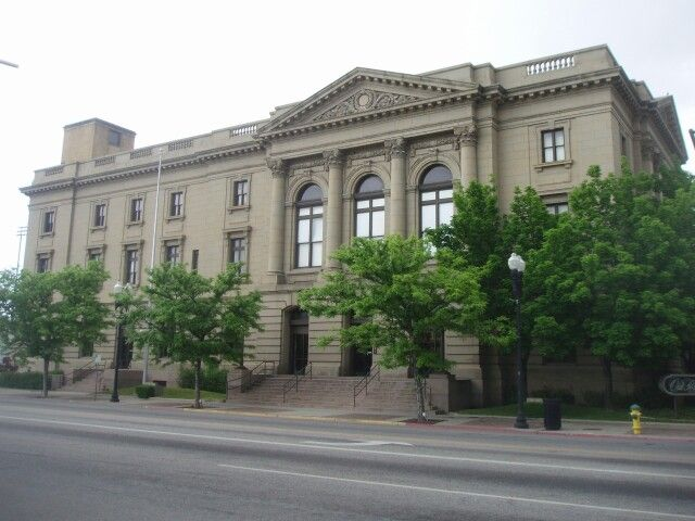 Old Post Office In Ogden Utah National Register Of Historic Places Utah Places
