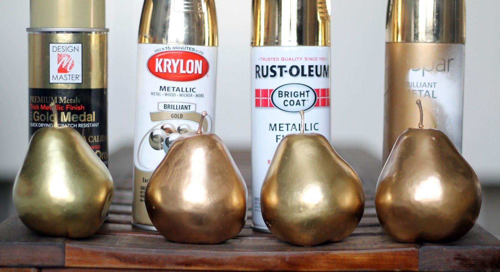 Gold Spray Paint Ideas Part - 40: Chris Loves Julia: Answering: Which Gold Spray Paint Is Best? She Likes  Design Master.I Prefer Rustoleum