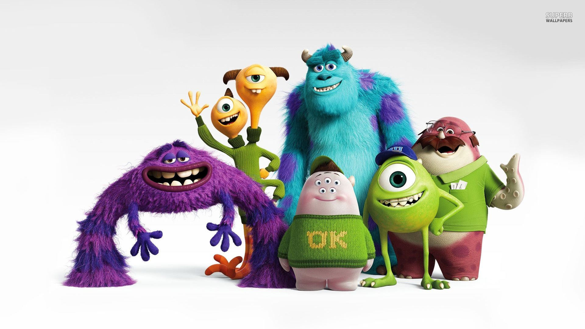 monsters inc backgrounds and monsters university wallpapers hd