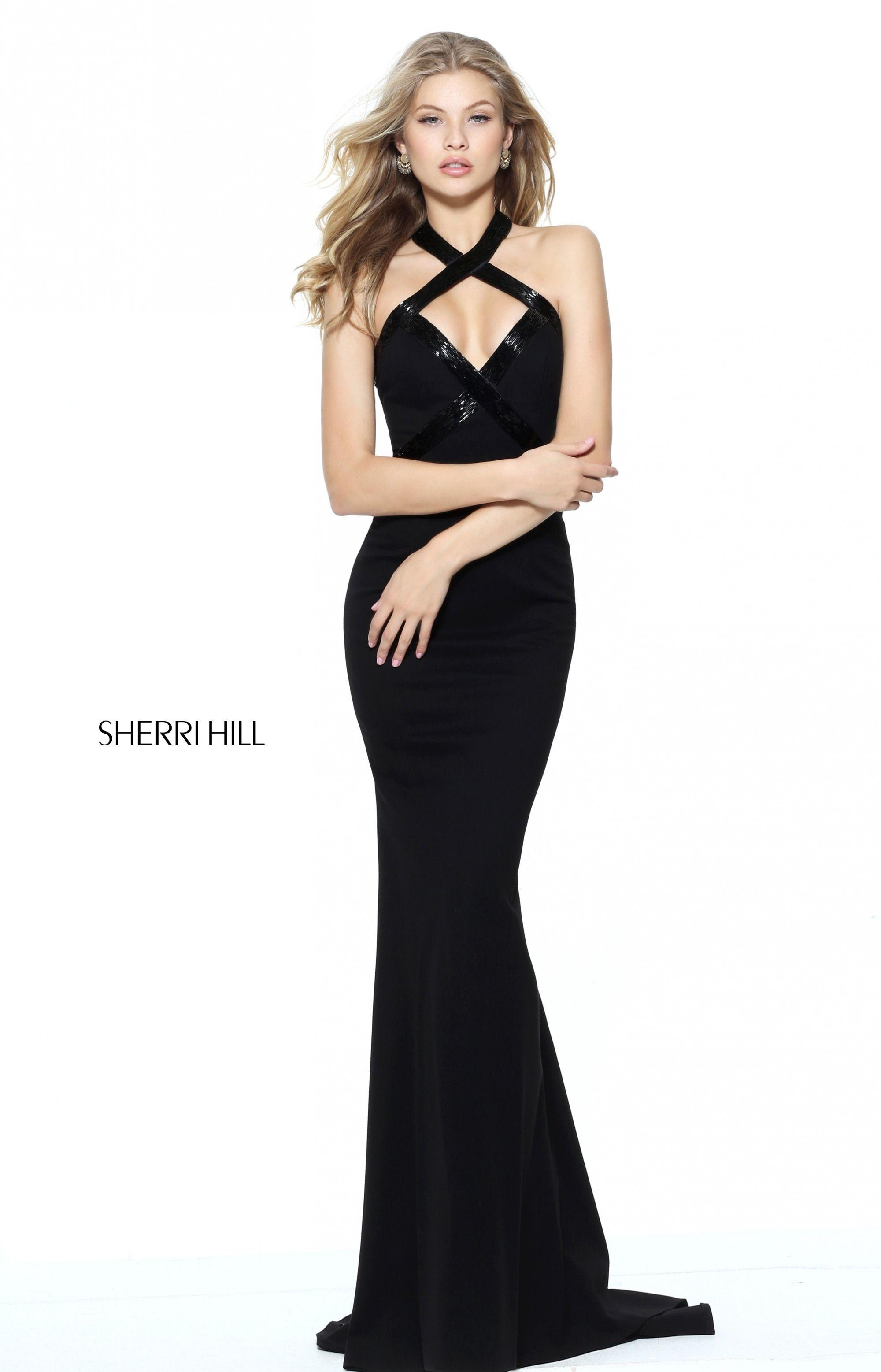 0a6c52e2f6e0 Sherri Hill 50865 - International Prom Association Skolejubilæumskjoler
