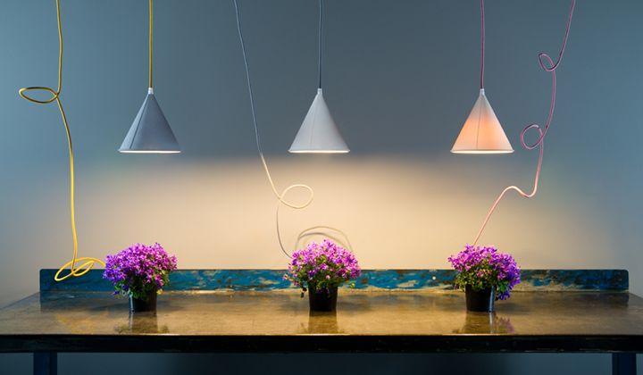Collezione be.pop: lampade colorate e morbide al tatto lighting