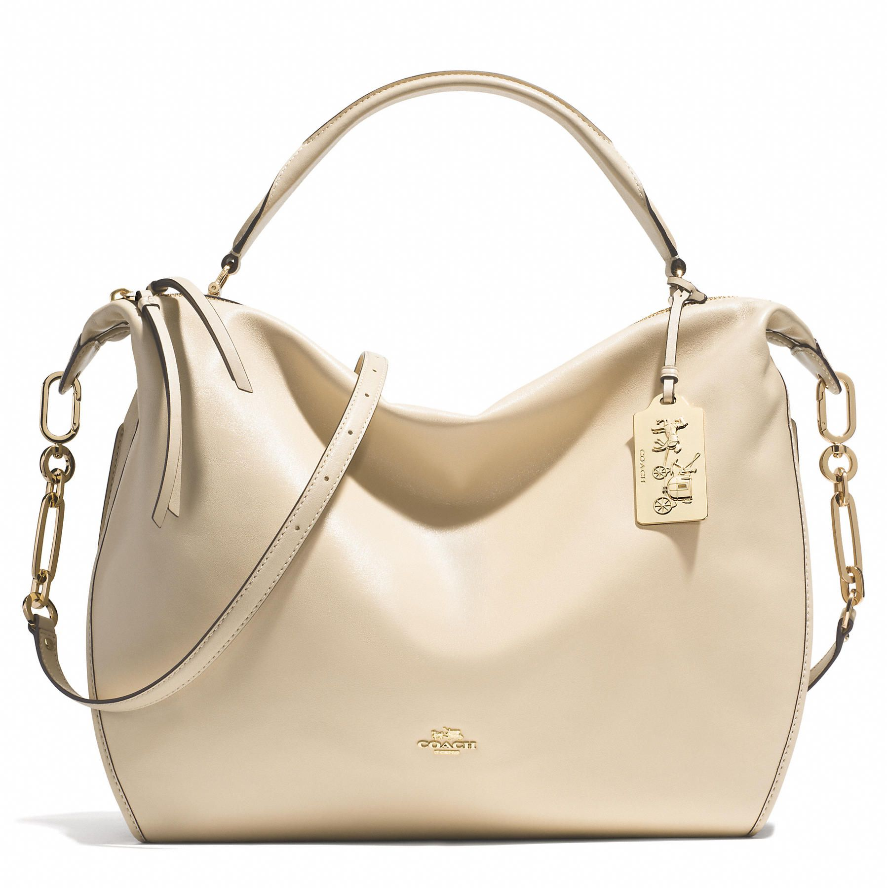 Coach :: MADISON XL SMYTHE SATCHEL IN LEATHER