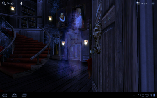 Inside A Haunted House Haunted House Hd Live Wallpaper Just In Time For Halloween Video Haunted House Haunted House Clipart Live Wallpapers