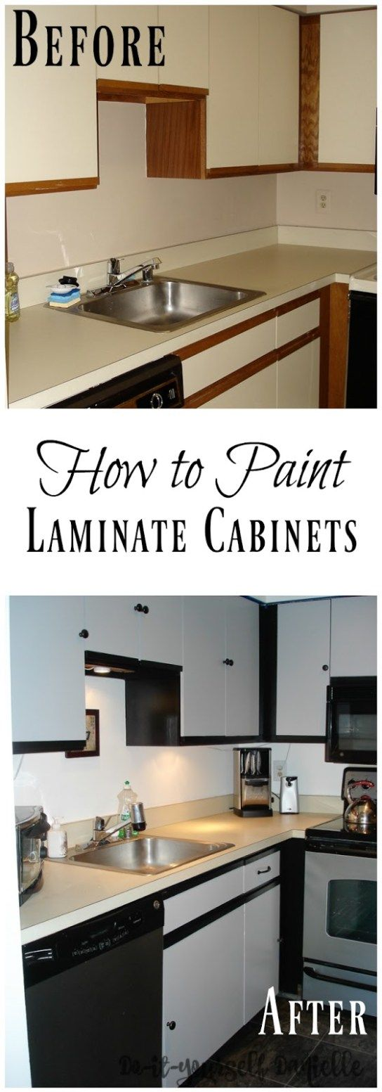 Painting Laminate Cabinets Diy Danielle Laminate Cabinets Painting Laminate Cabinets Laminate Kitchen Cabinets