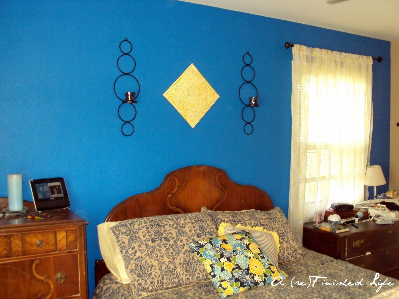 A Refinished Life: Master Bedroom Wall