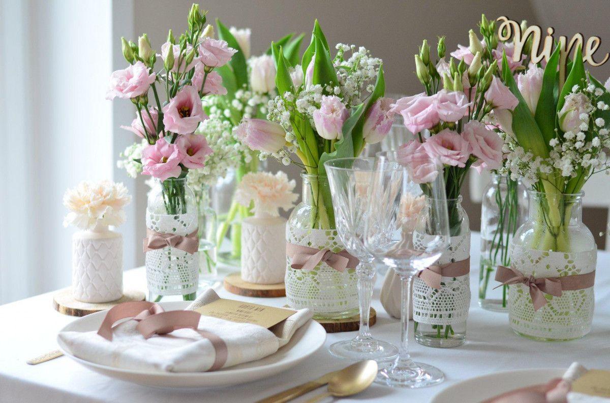 zarte elegante Blumendeko | Dekoration hochzeit, Hochzeit