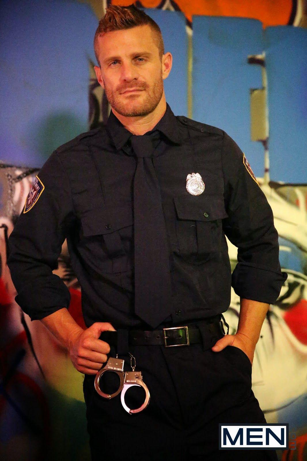 Landon Conrad  Hot Cops, Cop Arrested, Men In Uniform-5051