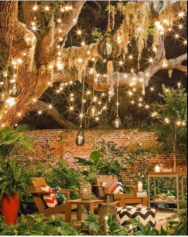 Pinterest Yarenak67 Dream Backyard Backyard Outdoor Patio Lights