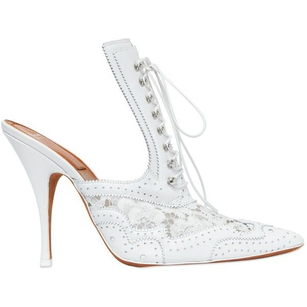 Givenchy Women 110mm Lace-up Lace