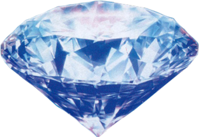 Cool Clear Contrasting Blue Diamond Diamond Rocks And Crystals