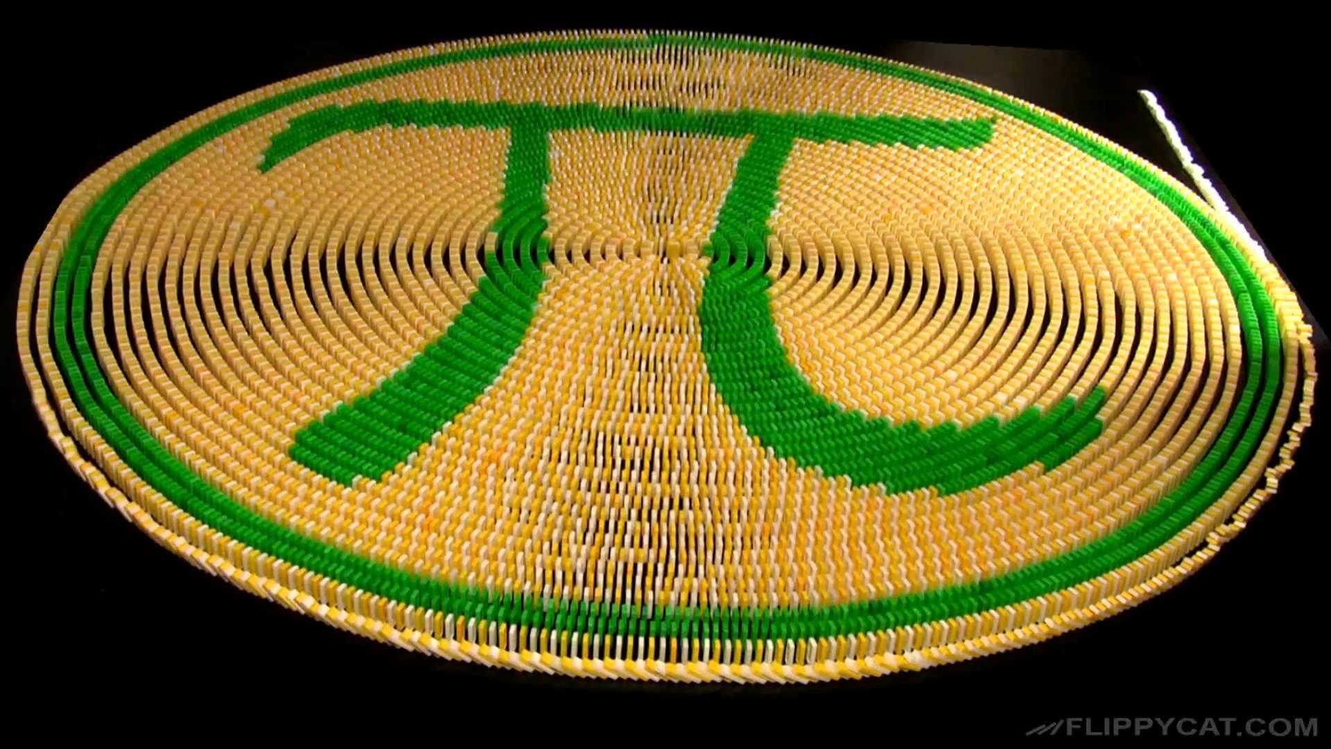 Happy Pi Day 3 14 Domino Spiral Matematik Calisma