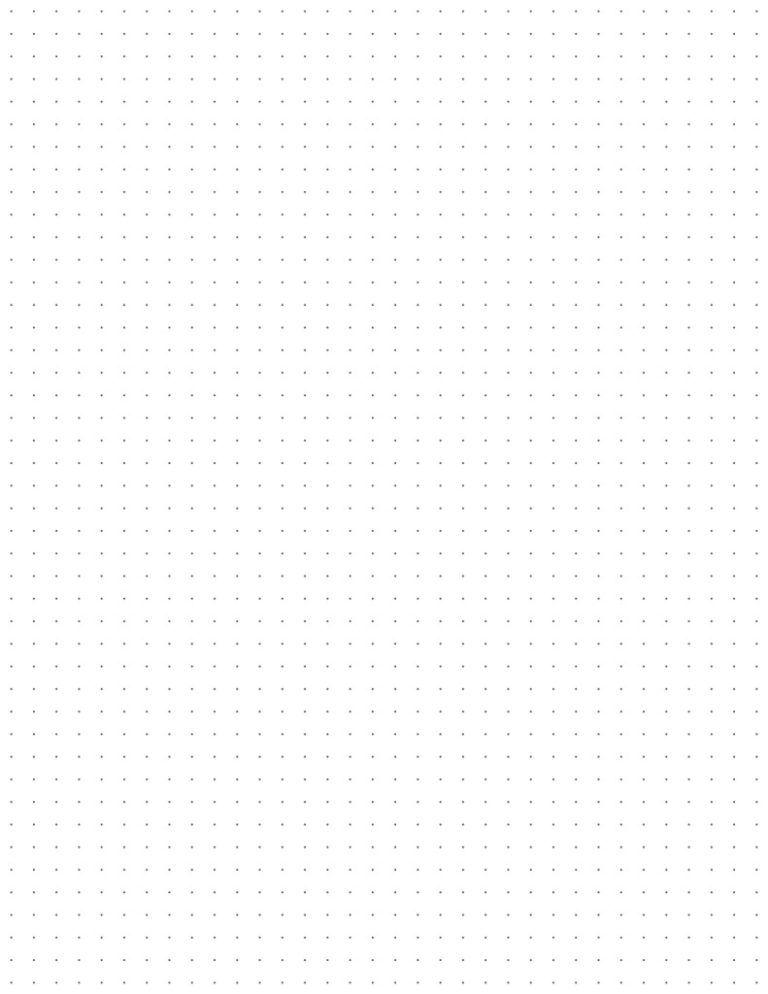 Thumbnail Of Printable Dot Grid Paper Letter Grey 4 Dots Per Inch Bullet Journal Dot Grid Notebook Paper Printable Grid Paper