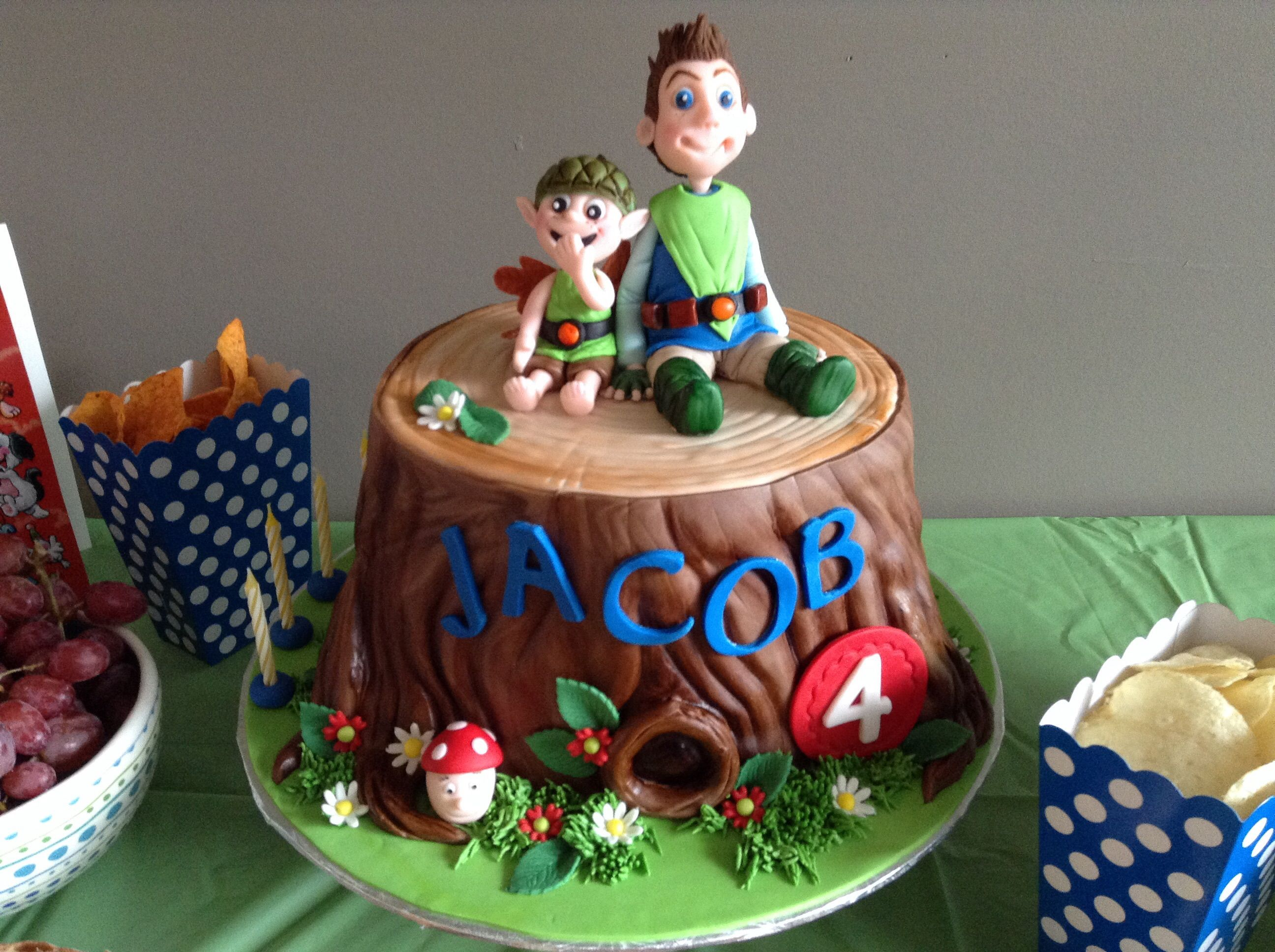 Fete De Jacob 4 Ans Tree Fu Tom Amazing Cake Tree Fu Tom Cakes