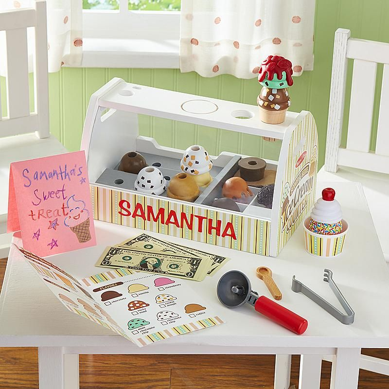 Melissa Doug Ice Cream Set Christmas Gifts For Kids