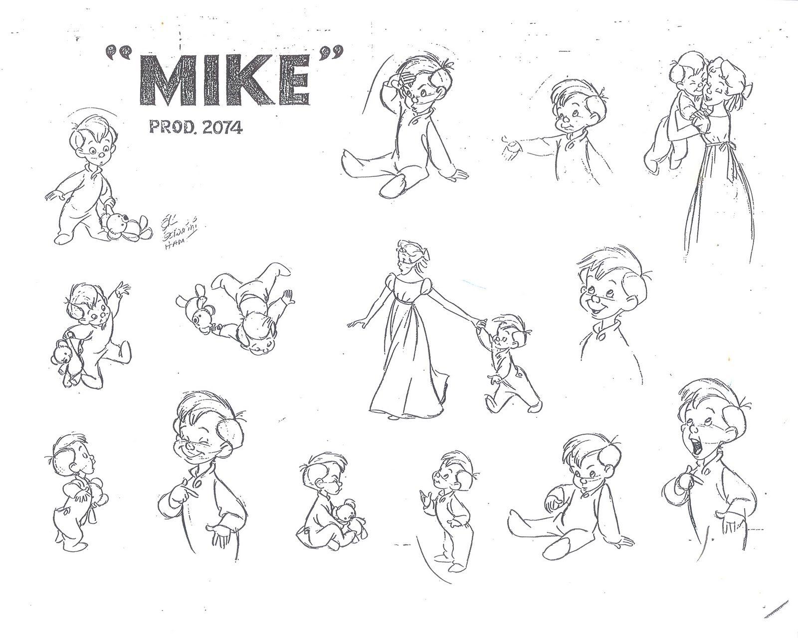 "Disney Character Design References : ""peter pan walt disney animation studios"