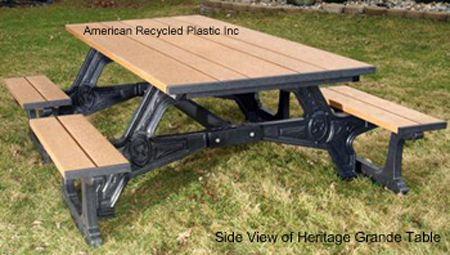 HUGE Picnic Table With Tons Of Seating Check Out All Our - Huge picnic table