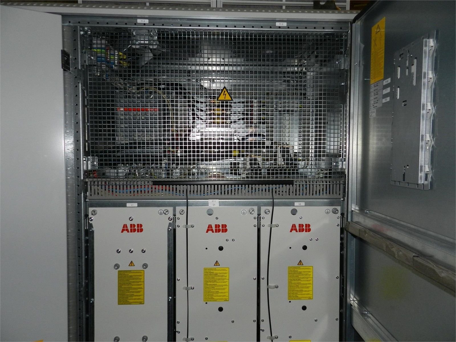 ABB ACS800 104 Wind Turbine Invertor Modules 4 Test Hours ly
