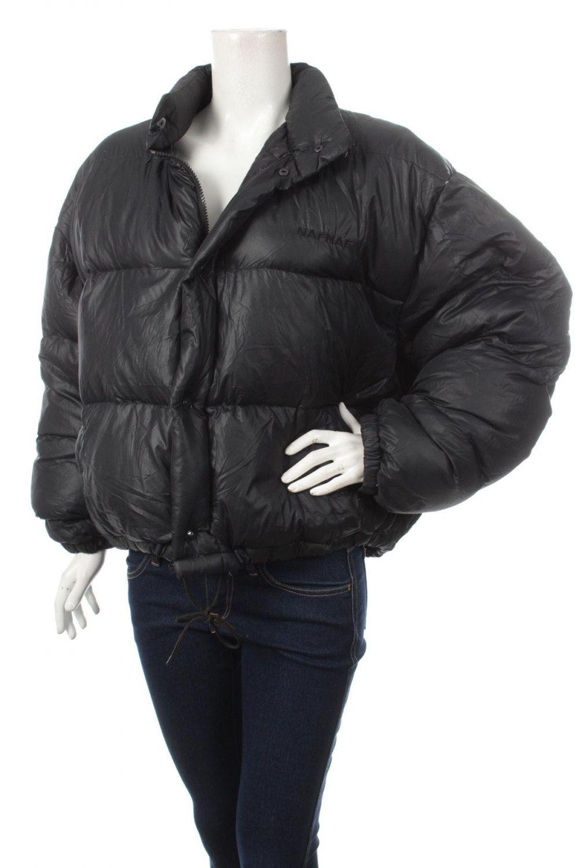Vintage 90s NAF NAF Women s Goose Down Puffer Jacket Spell Out Navy Blue Size  M by VapeoVintage on Etsy 41474bbd9
