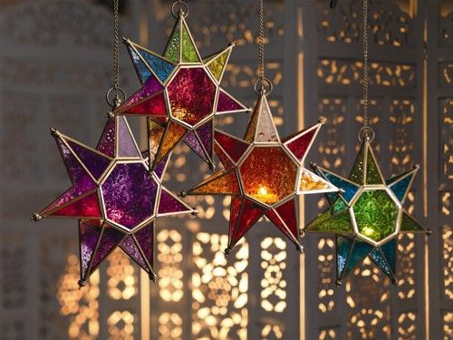 I have got these fairytale Star wind lights ♡ Love them
